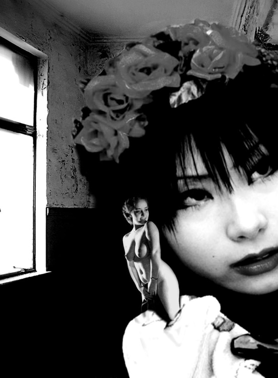 Japanese Girl with a Doll - Image 0