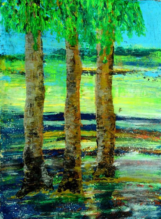 [348] Three Trees - Image 0