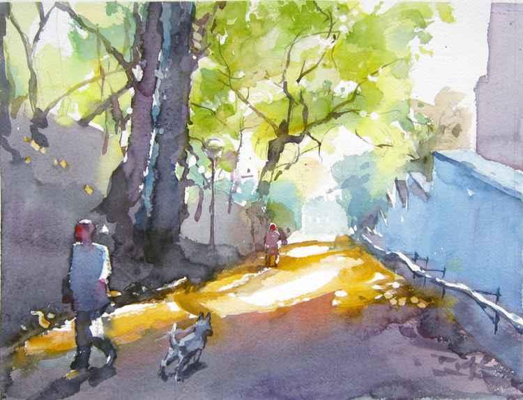 autumn sunny day II -