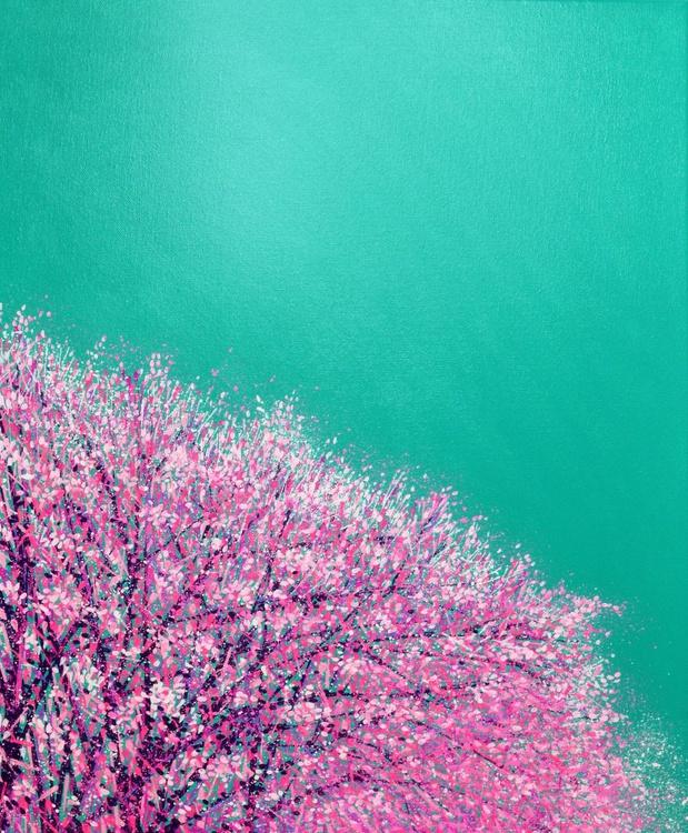 Park Life...Pink and Aqua - Image 0