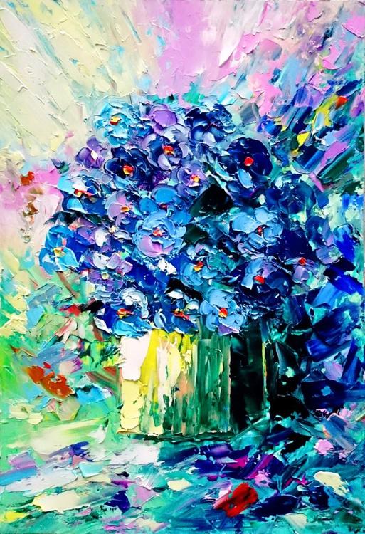 Bouquet of violets - Image 0