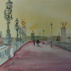 Pont Alexandra III by Mary Stubberfield
