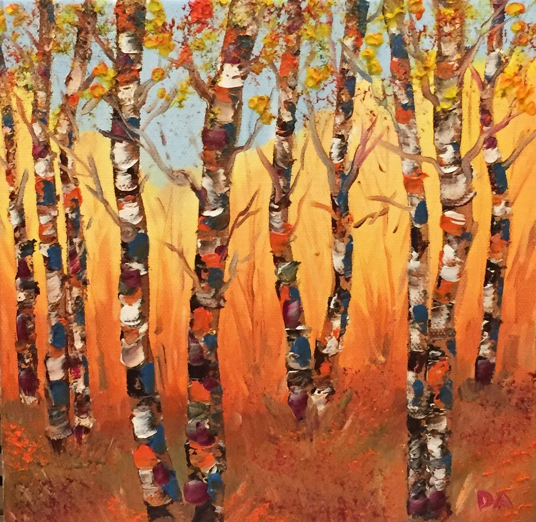 October Birches - Image 0