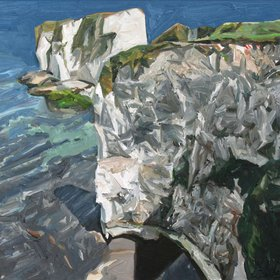 """Old Harry Rocks I, 2017"" by Richard Allen"