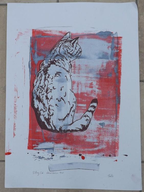 Sitting Cat - Image 0