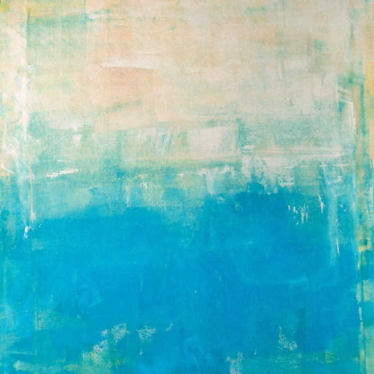 Turquoise Day 30x30 inches - Image 0