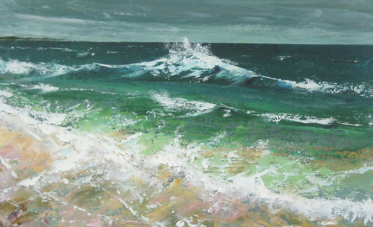 NW Breeze in Sandquoy Bay, Sanday - Image 0
