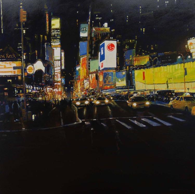 Times Square @ night. - Image 0
