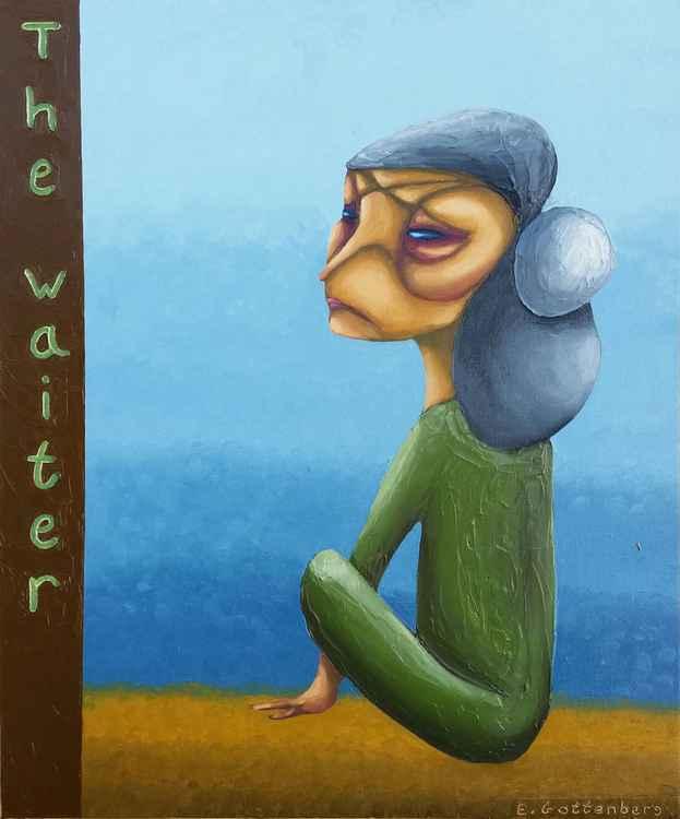 The waiter -