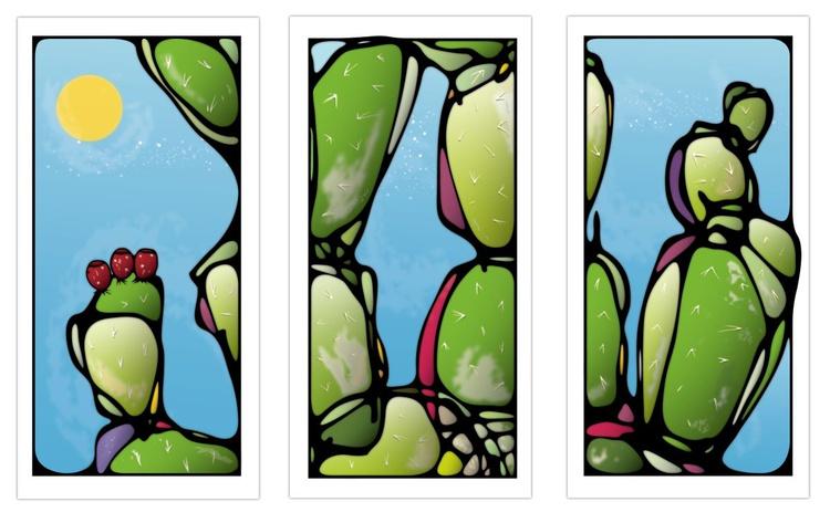 Tri-Cactus III - Image 0
