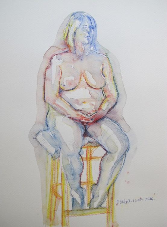 seated nudes - Image 0