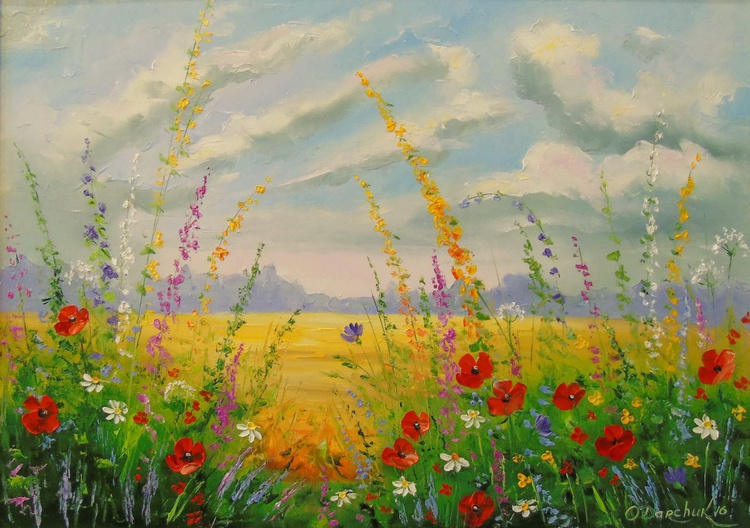 Wildflowers at dawn - Image 0
