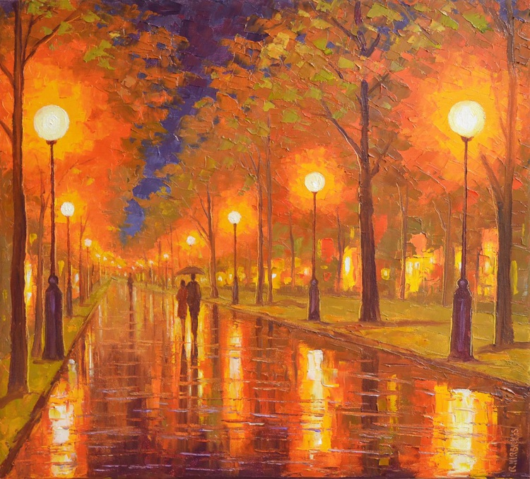 Evening in the Park - Image 0