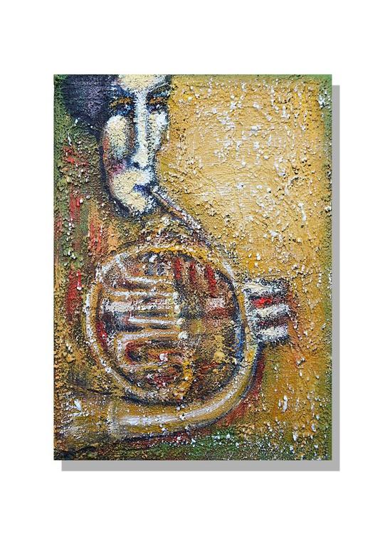 Hoorn (15x21x1.5cm) - Image 0