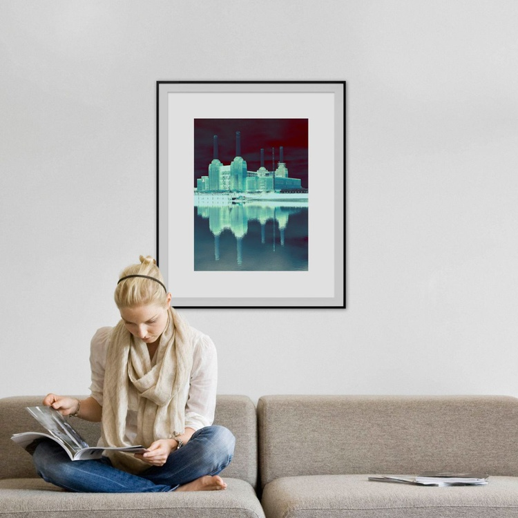 """BATTERSEA POWER STATION  NO:8  Limited edition  1/20 30""""X20"""" - Image 0"""