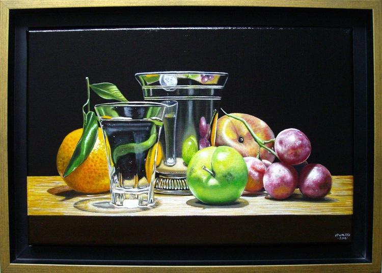 Fruits in silver - Image 0