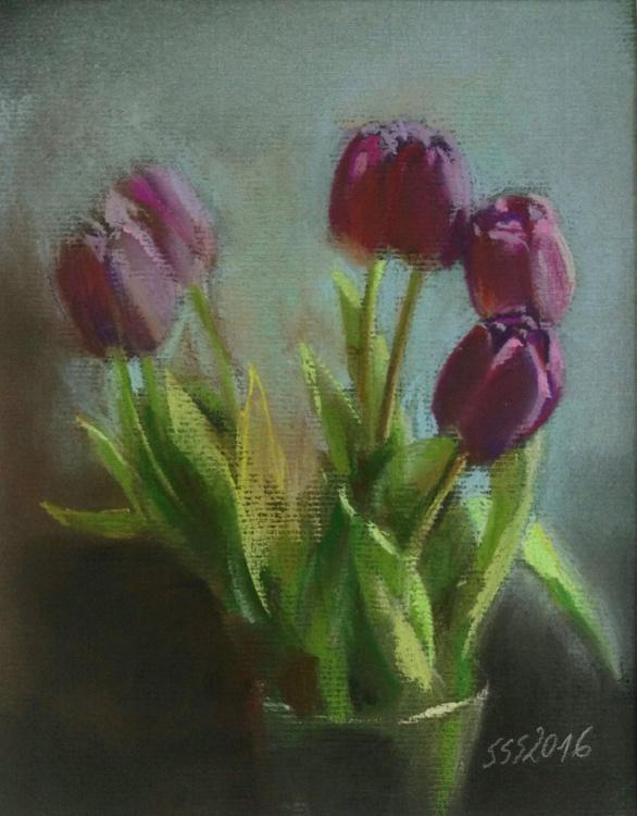 Purple tulips - Image 0