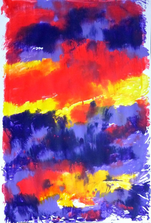 monotype in violet - Image 0