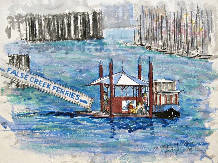 False creek Ferry Stop - Vancouver - Image 0