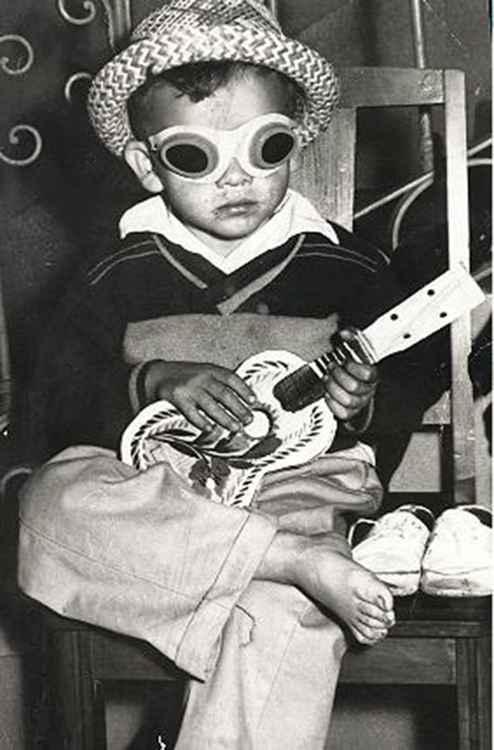 Beatnik Boy, c. 1962 • Herminio Lopez, Foto Estudio Viena, Jalisco, Mexico • Ltd Edit Matt Print -