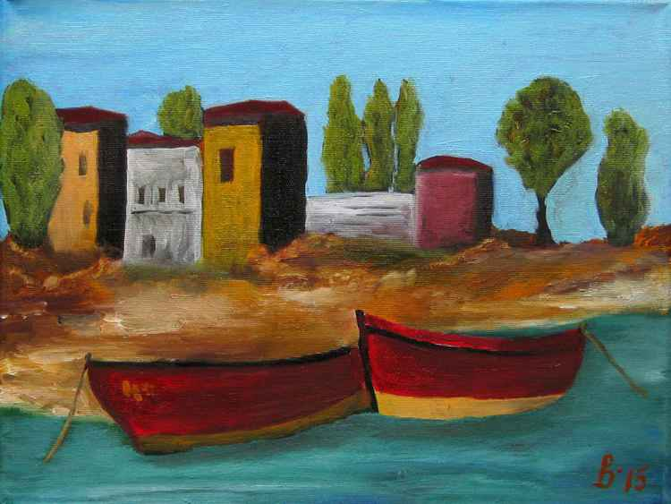 Fishing village -