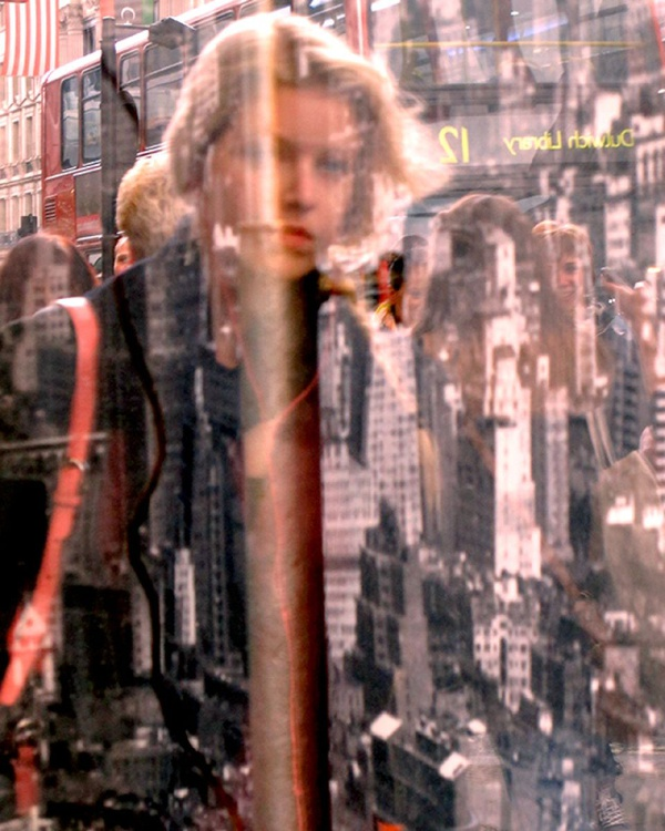 "WOMAN IN CITYSCAPE  (Limited edition  1/50) 8""x 10"" - Image 0"