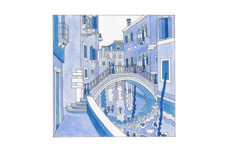 Canal, bridge and fondamenta - Image 0