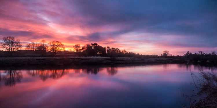 River Ure Sunrise