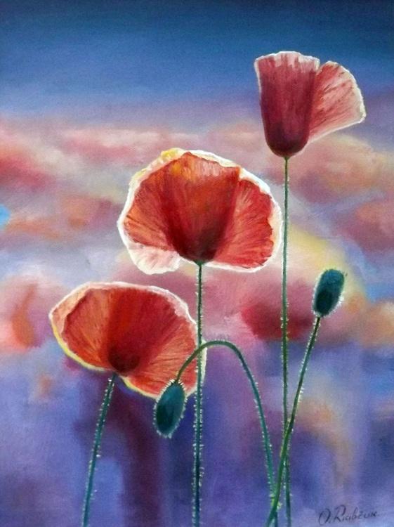 Poppies (Framed) - Image 0