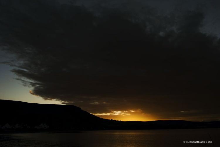 Tievbulliagh Sunset. - Image 0