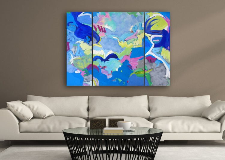 """Air And Water  48"""" x 36""""/ 122 x 91 cm - Image 0"""