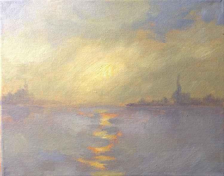 Evening Fog -