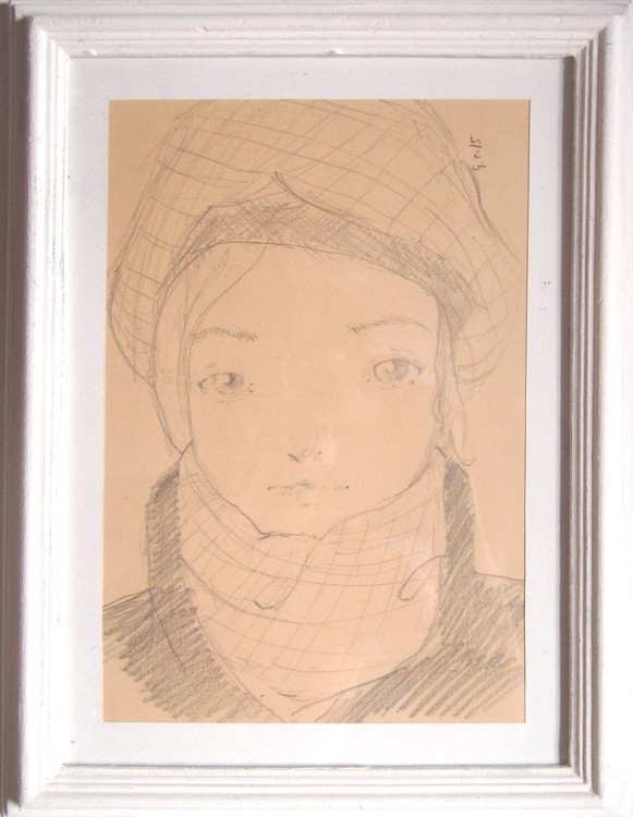 Girl with cap - Image 0