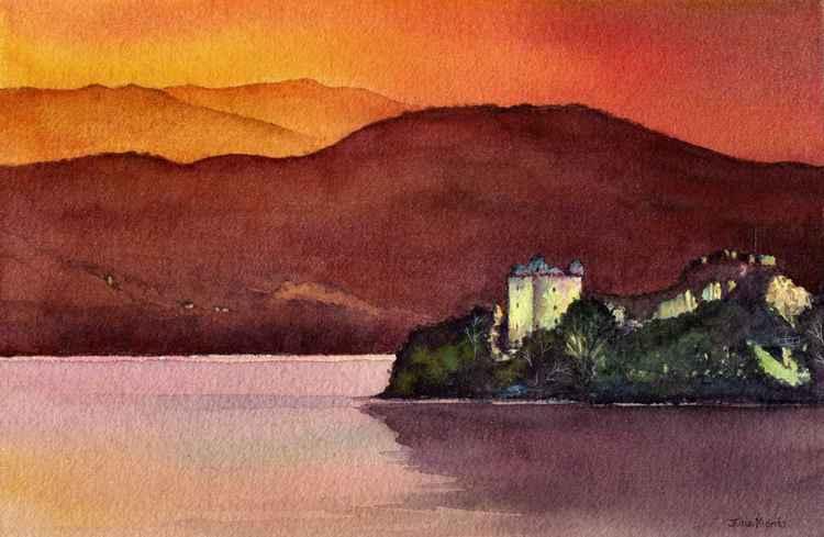 Urquhart Castle 2. -