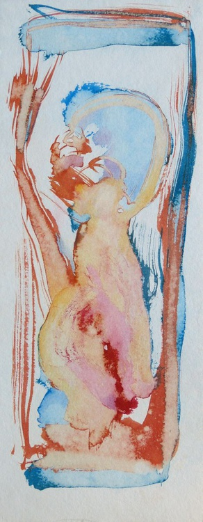 Variation on Passer-by #16, 13x32 cm - Image 0