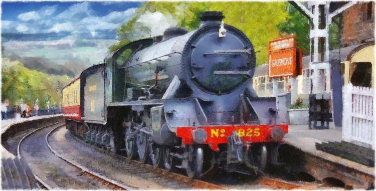 Grosmont Steam Engine No. 825 - Image 0