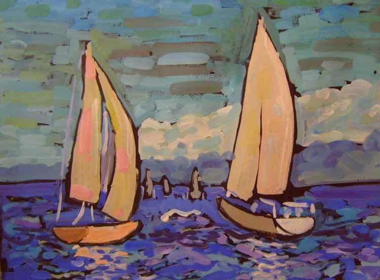 Sailing boat -