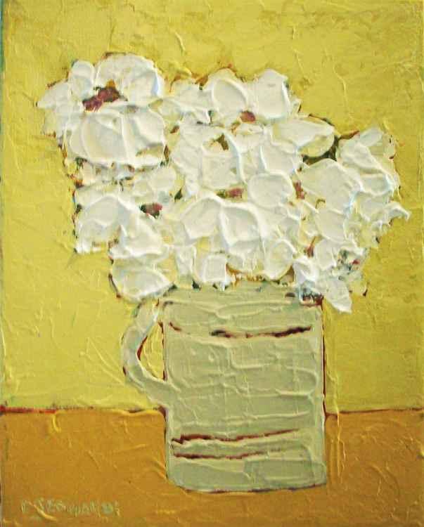 Daisies in a Mug -