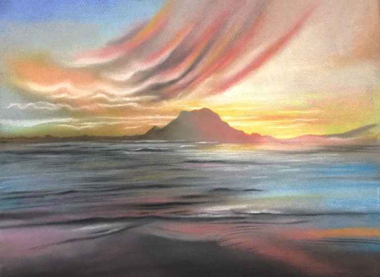 Betty's Bay sunset -
