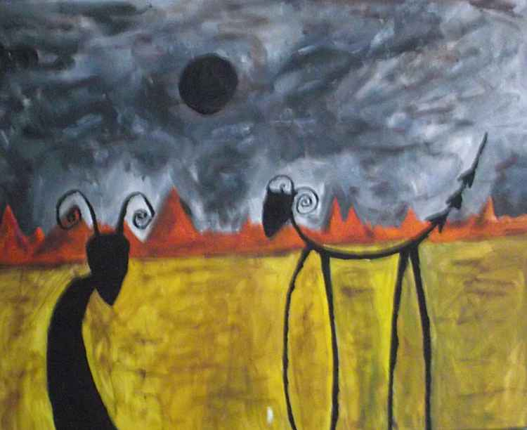 Shadow wolfs of despair
