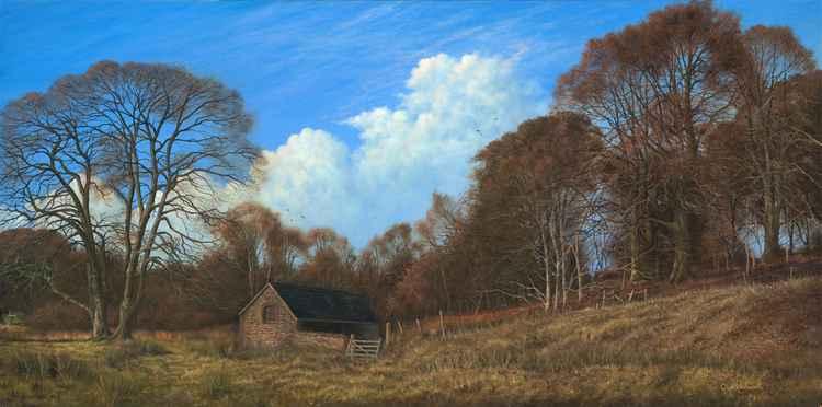 Old Barn at Simonsbath, Somerset -
