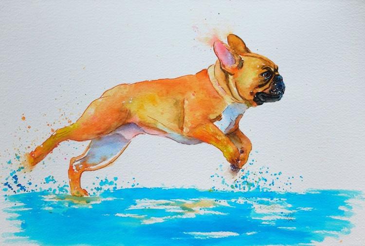 A Run On The Beach - Image 0