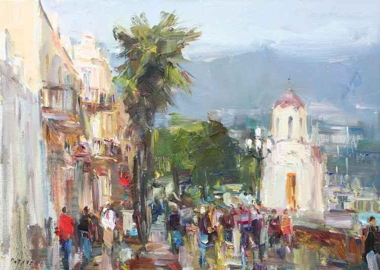 Embankment in Yalta -