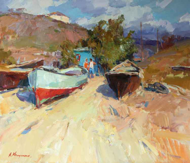 Fishing boats -