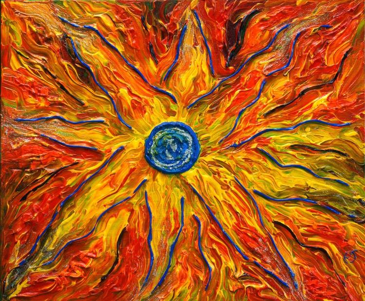 Blue sun - Image 0