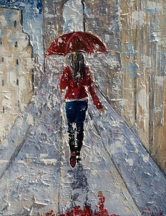 Red umbrella - Image 0
