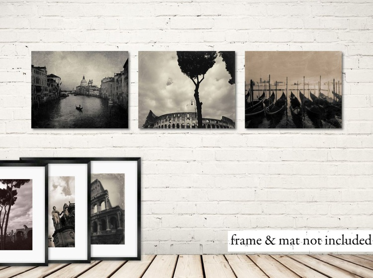 3 prints of Italy - Image 0
