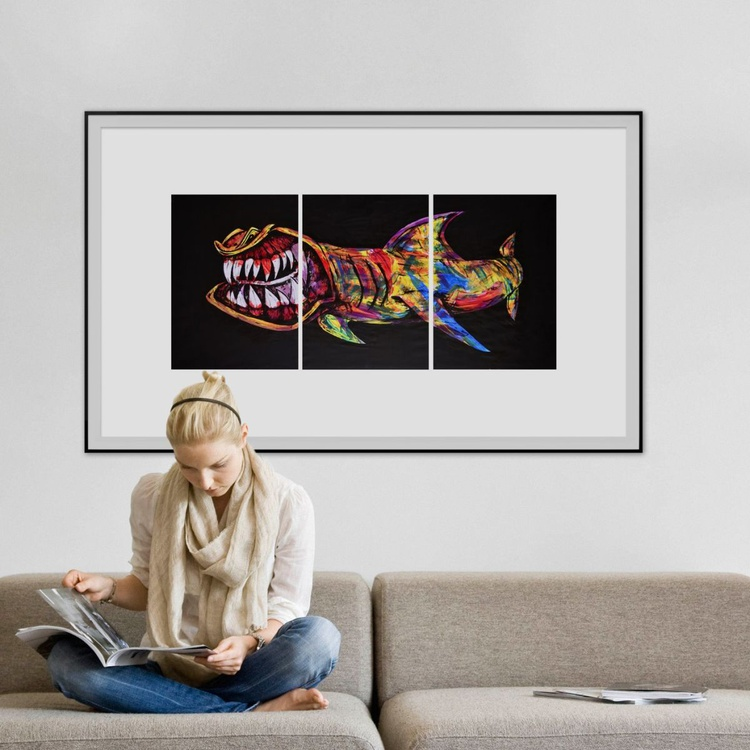 Jaws - Triptych - Image 0