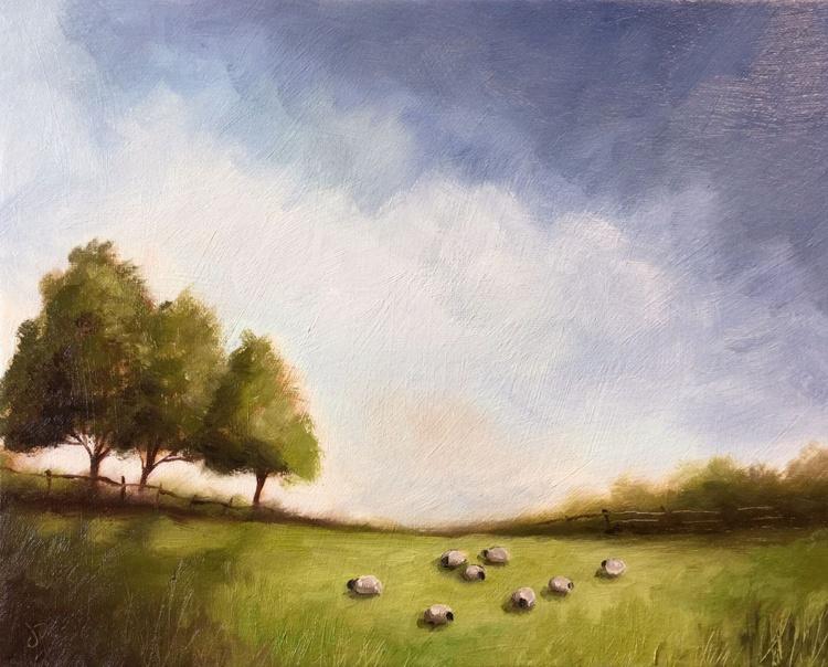 Field of sheep - Image 0