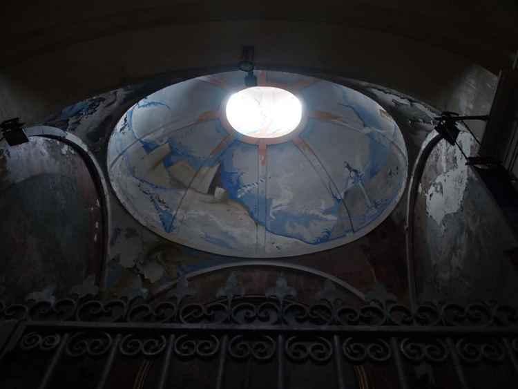 Iglesia de Sant Agusti: Interior dome